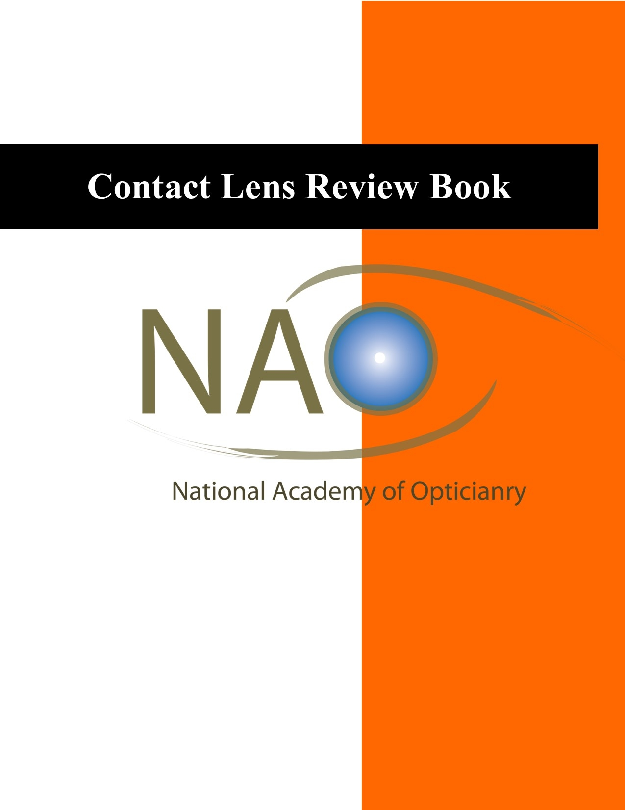 Contact Lens Review Book